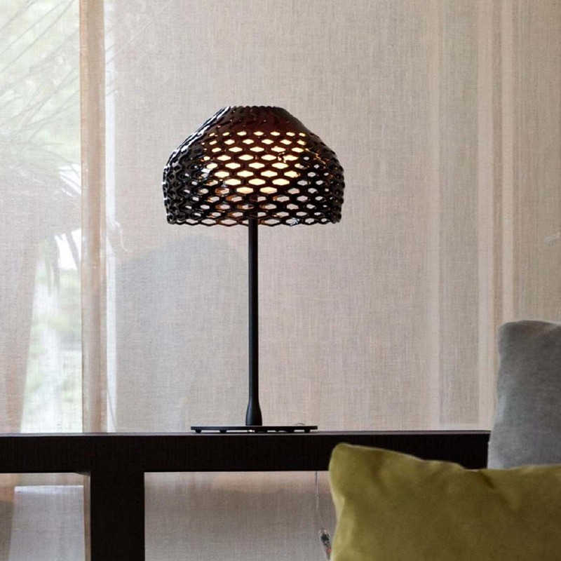 Flos Tatou T1 table Lamp diffused lighting in polycarbonate by