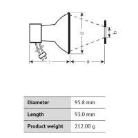 Osram Powerstar HQI-R 150W NDL Deluxe Bianco Naturale per Illuminatori