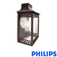 Philips myGarden 53W Hedge Lantern Applique Wall Lamp Outdoor IP44