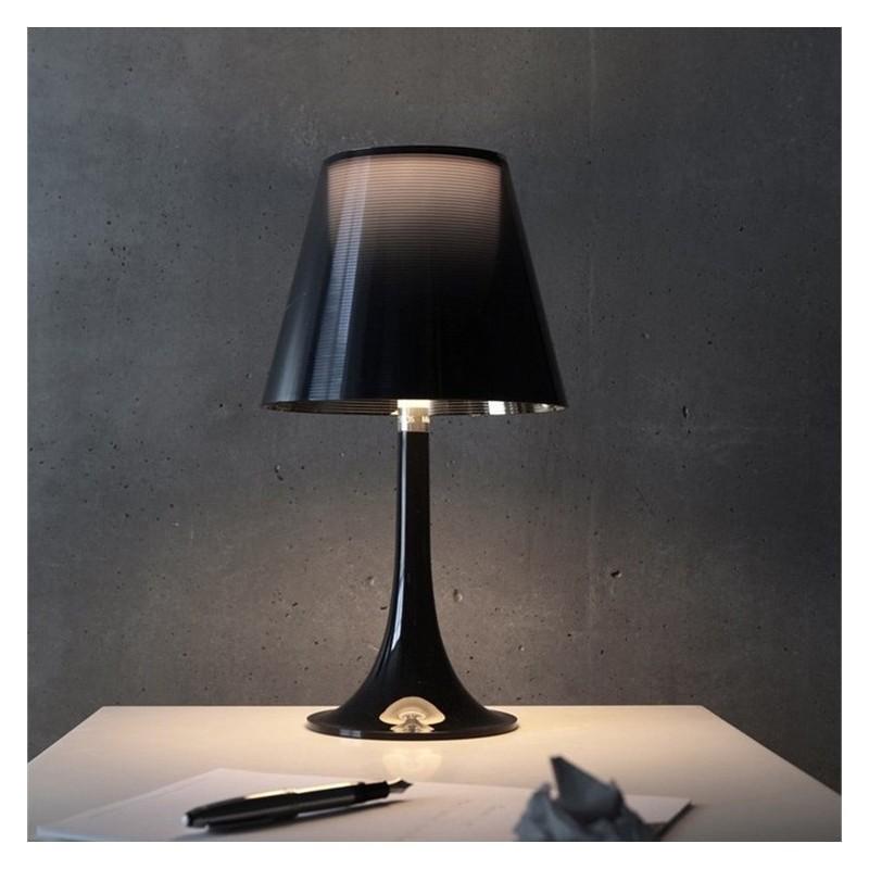 Flos Miss K Table Lamp Aluminized Black F6255030 Design ...