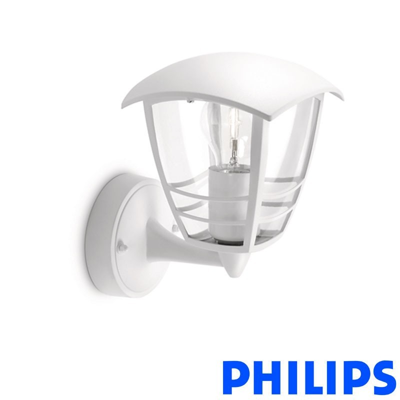 Philips myGarden 60W Creek Applique Wall Lamp Outdoor IP44