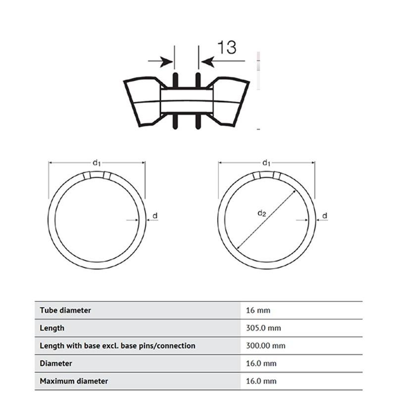 Osram Circular 55W 830 Warm White