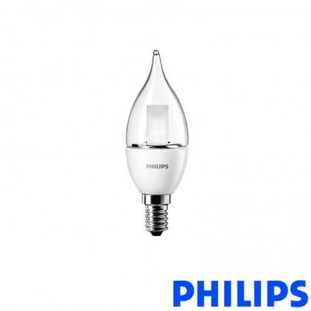 Philips Lamp Master LEDcandle Clear 4-25W E14 2700K 250lm