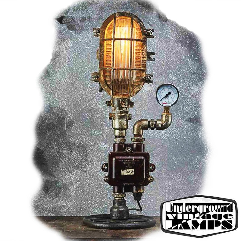 Pleasing Table Lamp Ship Ceiling Lamp 1 X E27 Edison Vintage Industrial Style Made In Bali Home Remodeling Inspirations Gresiscottssportslandcom