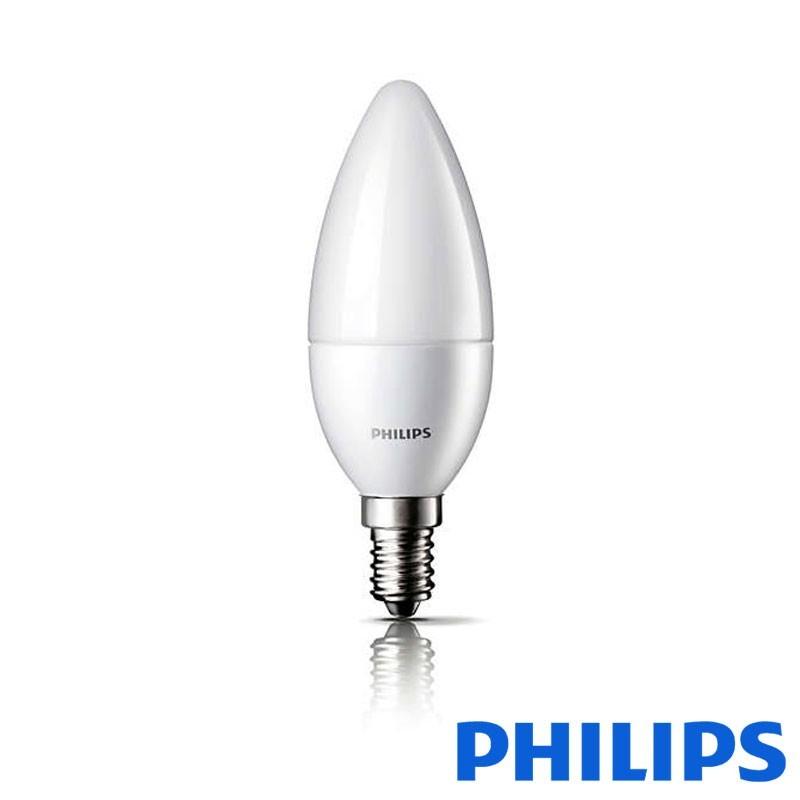Philips Lampadina Novallure LEDcandle 3-15W E14 827 2700K Luce calda