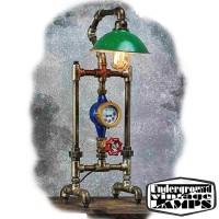 Lampada da Tavolo THE SCARECROW 1 x E27 Edison Vintage stile Industriale fabbricata in Bali