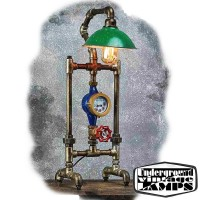 Table Lamp THE SCARECROW 1 x E27 Edison Vintage Industrial style made in Bali
