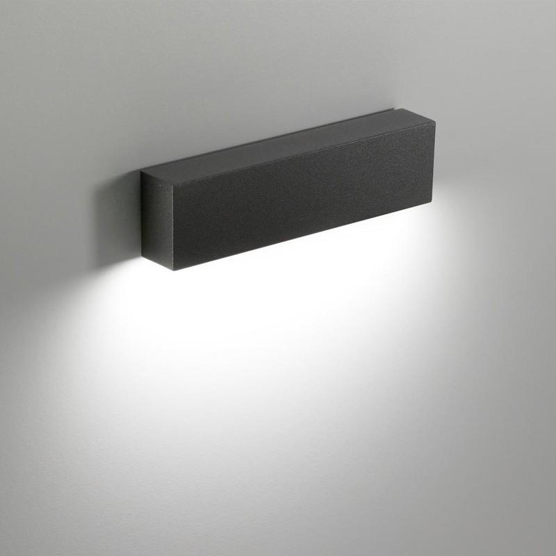 Rectangular 8w Led Lati Applique 233lm Ip65 Ai Lamp 3000k Slat Wall orWdBeCx