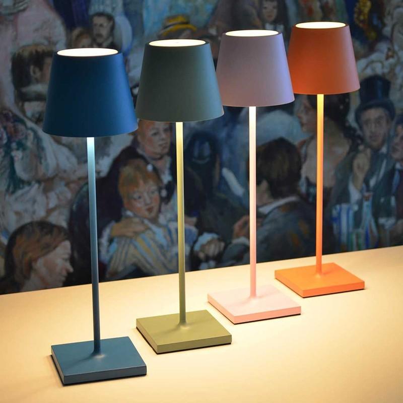 Ai lati poldina rosa lampada da tavolo led 2w 3000k ricaricabile ip54 esterno diffusione luce srl - Lampada led da tavolo ricaricabile ...