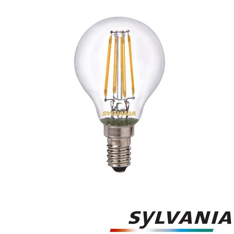 SYLVANIA ToLEDo LED Retro Vintage Ball Lamp E14 4W-37W 420 lm 2700K
