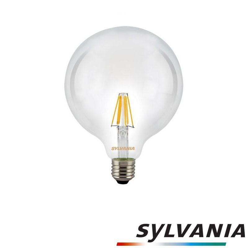 SYLVANIA ToLEDo LED Retro Vintage G120 Clear Lamp E27 7.5W-72W 1000 2700K