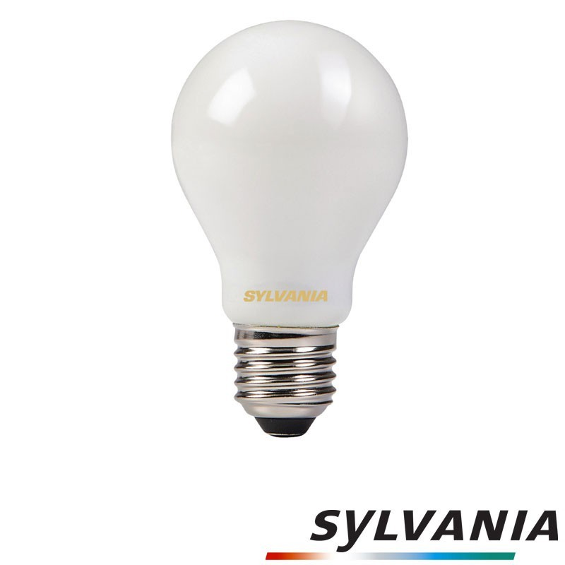SYLVANIA ToLEDo LED Retro Vintage A60 Frosted Lamp E27 4W-40W 470 lm 2700K