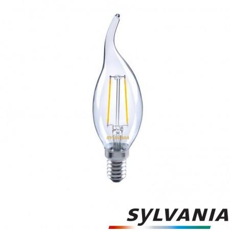 SYLVANIA ToLEDo LED Retro Vintage Candle Clear Lampadina E14 2.5W-30W 230lm 2700K