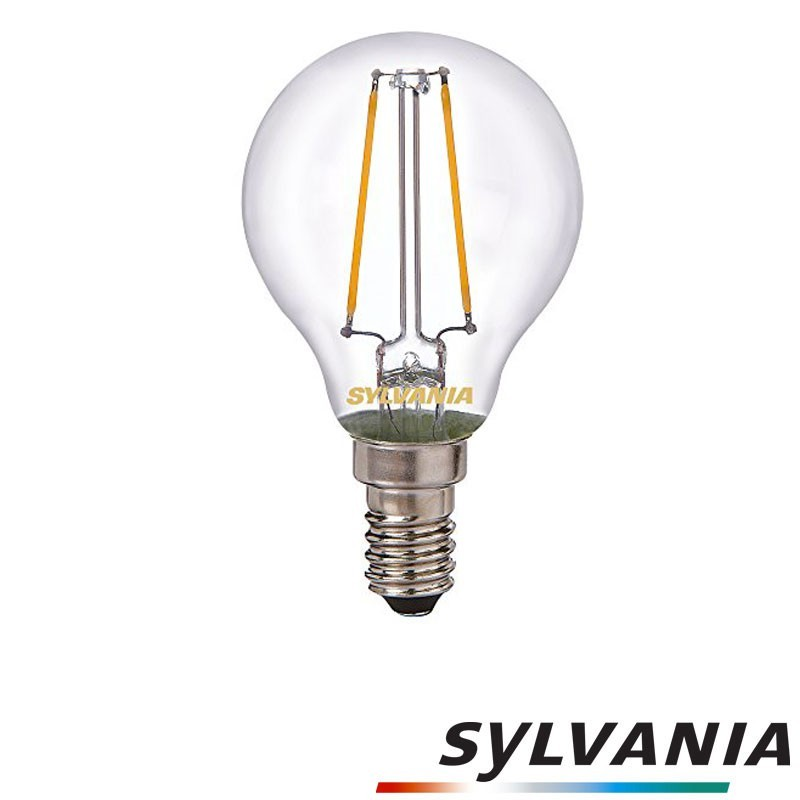SYLVANIA ToLEDo LED Retro Vintage Ball Clear Lampadina E14 2.5W-25W 250 lm 2700K