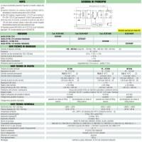 Cabur Alimentatore Switching 1-phase 120-230 Vac 5A 48Vdc 240W CSF240D