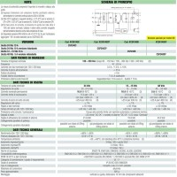 Cabur Power Supply Switching 1-phase 120-230 Vac 5A 48Vdc 240W CSF240D