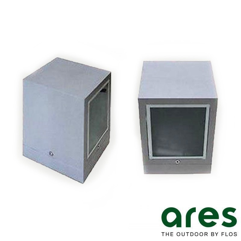 Ares Ganos applique esterno alogenuri 35W o fluorescenza 26W