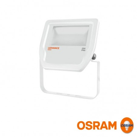 Osram LEDVANCE Floodlight LED 20W 3000K 2000lm Faretto Proiettore Esterno IP65 Bianco