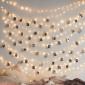 New lamps Filo luminoso in rame a 240V con 300 nano LED 30m Luce calda per Esterno IP44