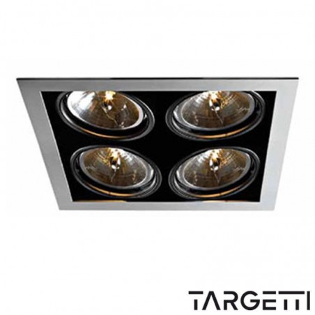 Targetti kr1 1v7378 recessed Multioptic 4 recessed lamps