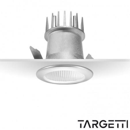 Targetti recessed spot quick 1t2420 led 10w 3000k warm light