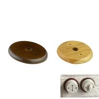 Base in Legno per Installazione Scatola di Derivazione o Interruttore in ceramica o porcellana