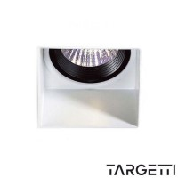 Targetti spotlight recessed trimless fixed framework fixed 1t1199 led