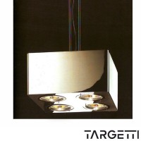Targetti esedra evolution 4x75W suspended box max