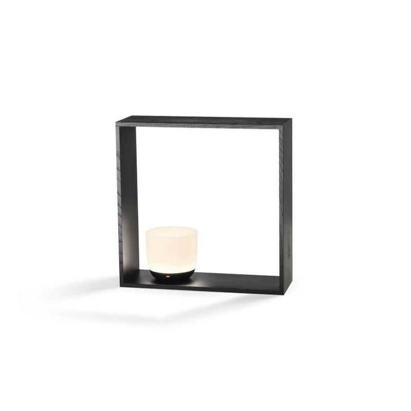 Lampade Ad Induzione Osram.Flos Gaku Wireless Lampada Led In Legno Da Tavolo Ricaricabile Ad Induzione In Legno Frassino By Nendo
