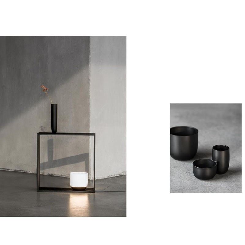 Lampade Ad Induzione Osram.Flos Gaku Wireless Lampada Led In Legno Da Tavolo