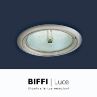 Biffi Luce 5706 recessed spot 70W Ø190 lighthouse metal halide