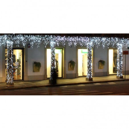 New Lamps Christmas string curtain Light 288 LED 3.30 meters 230V IN 24V OUT 20W Cool Light Waterfall Effect with Controller
