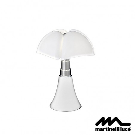 Martinelli Luce Mini Pipistrello LED Table Lamp White 110V UL