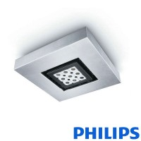 Philips EW Downlight Powercore 9 led argento 2700K plafoniera soffitto