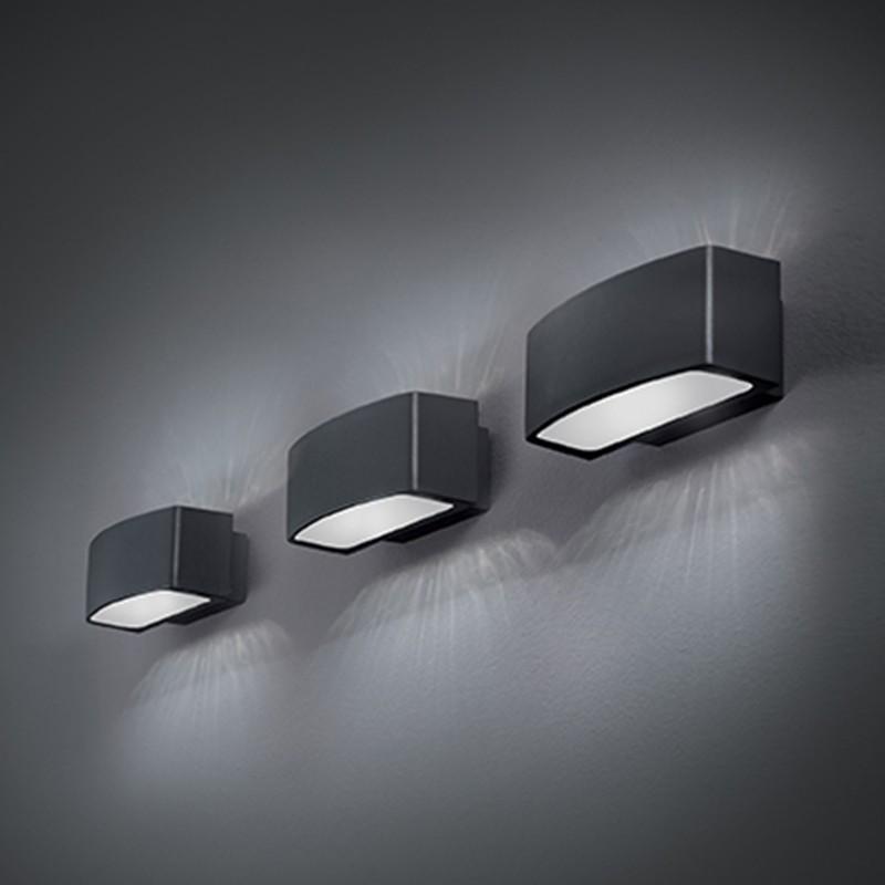 Ideal lux andromeda ap1 applique lampada da parete led e27 esterno ip55 diffusione luce srl - Applique da esterno a led ...