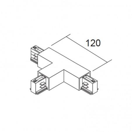 Ivela power T-joint Grey Binary Three Phase