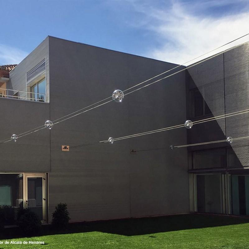 Sistemi Di Illuminazione Per Esterni.Cini Nils Tensesterni Sistema Di Illuminazione Per Esterni