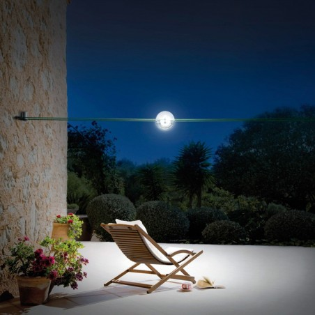 Cini & Nils Tensesterni Outdoor Lighting System On Suspended Cables