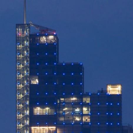IGuzzini BB07 Glim Cube LED Light Warm 3200K lamp Wall Outside Outdoor