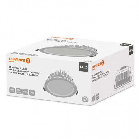 Osram LEDVANCE Downlight LED Recessed Spotlight 25W 4000K 2340 lm