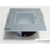 Leucos SD 101 faretto incasso vetro cristallo Gu5.3 12V