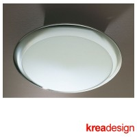 Kreadesign MegaMetal 250 Keep Ceiling or Wall Lamp Chrome IP40