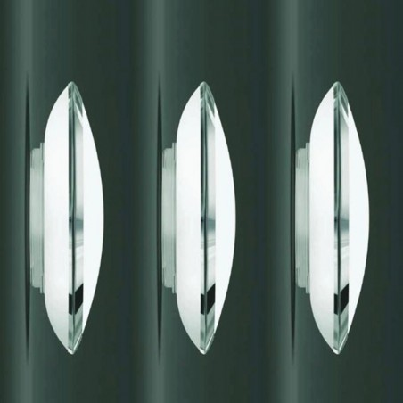 Kreadesign MegaMetal 250 Keep Ceiling or Wall Lamp Chrome IP40