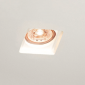 MOLVENO LIGHTING Aragon Flat LED Recessed Spotlight Plaster Gypsolyte