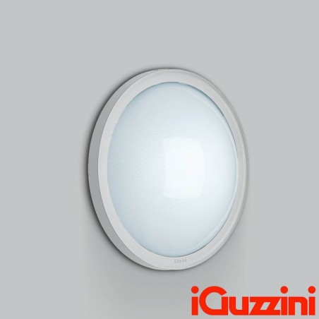 iGuzzini B836 iFace White ceiling lamp 26W Fluroscente Outside Outdoor