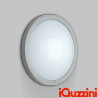 iGuzzini B841 iFace Gray ceiling lamp 46W Fluorescent for Outdoor