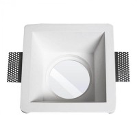 MOLVENO LIGHTING Aragon XL LED Faretto Incasso Gesso Gypsolyte