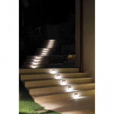 Ares Trixie LED 1,9W 3000K Lampada Esterno Segnapasso IP65 Alluminio