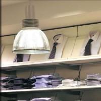 Wever & Ducrè Techno P Industrial Suspension Lamp 26W IP40