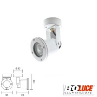 Boluce Show 4050 Adjustale Projector Wall or Ceiling IP55 White